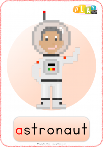 Flashcards A - Astronaut