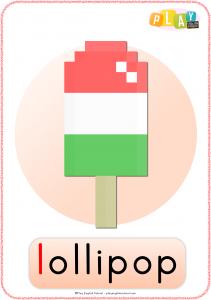 Flashcards L- Lollipop