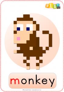 Flashcards M - Monkey