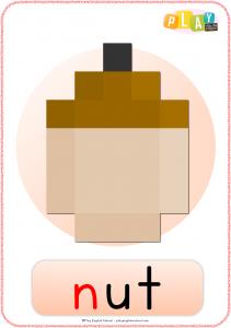 Flashcards N - Nut