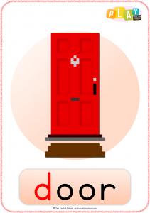 Flashcards D - Door