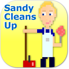 Sandy Cleans Up