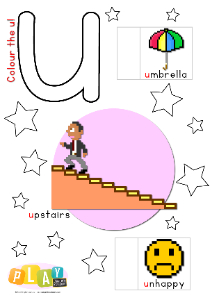 Alphabet Flap Book - u_tn