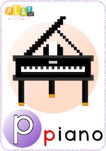 Phonics P Piano_tn