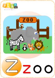 Phonics Z Zoo_tn