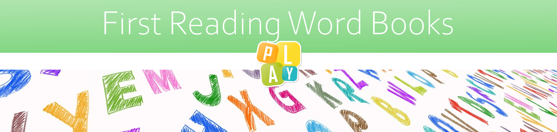 Header Image First Reading Word Books