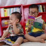 Young Boys Reading