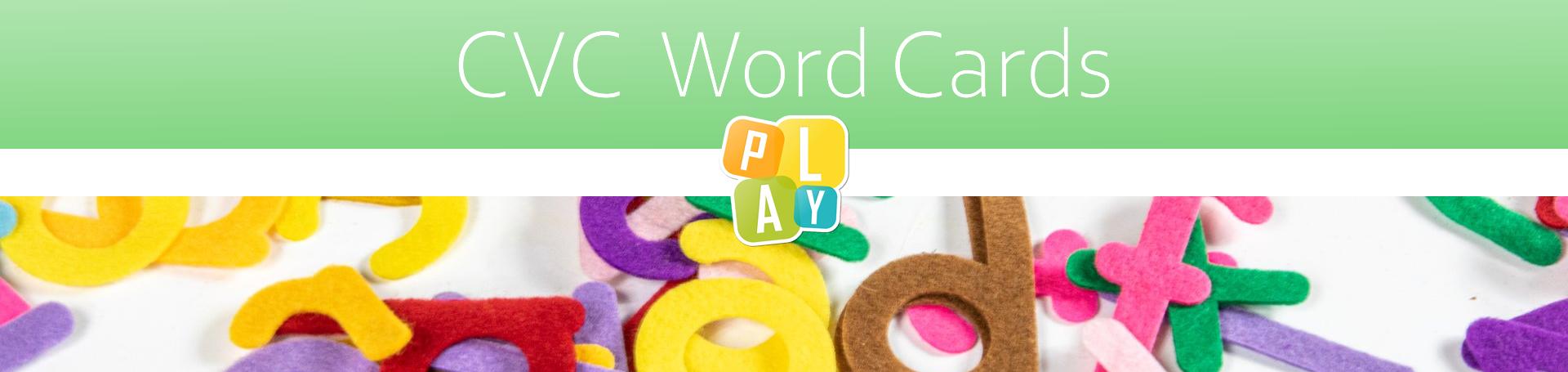 Header CVC Word Cards