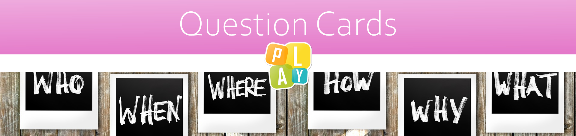 Header Question Cards